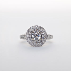 The Stella - 18K Diamond Ring