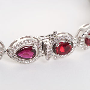The Wanda - 18K Ruby and Diamond Bracelet