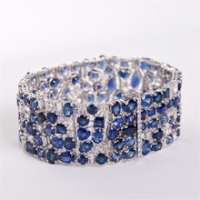 The Alexandra - 18K Sapphire and Diamond Bracelet
