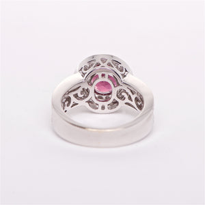 The Sophie - GIA Certified 18K Ruby and Diamond ring