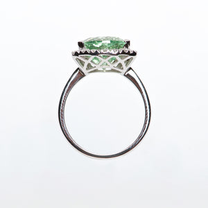 The Eliza - GIA Certified Tourmaline and Diamond ring