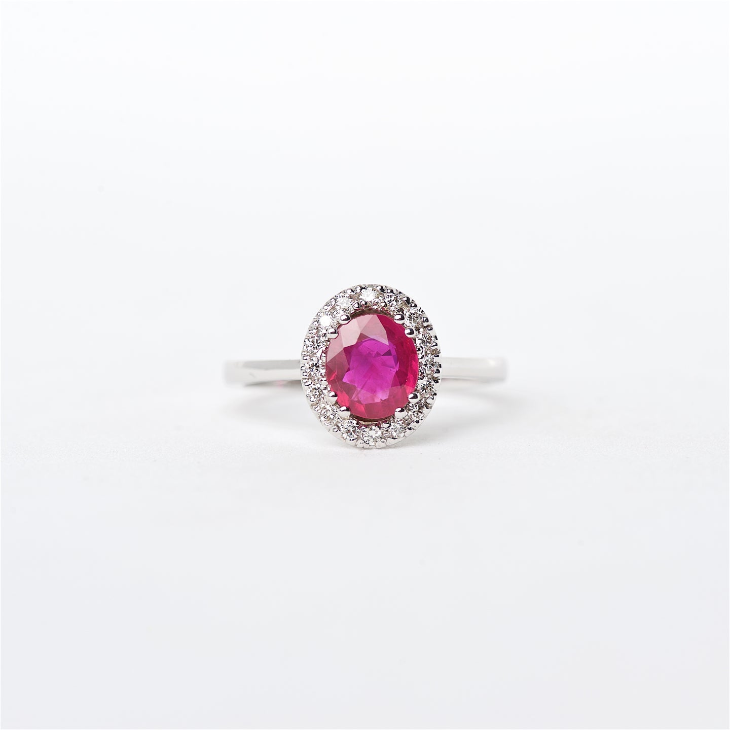 The Emmy - 18K Ruby and Diamond ring