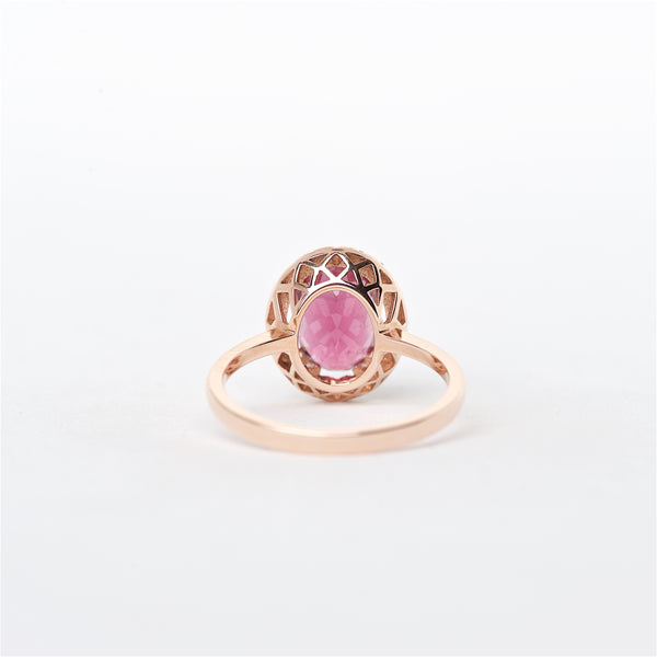 The Paige - 14K Tourmaline and Diamond ring