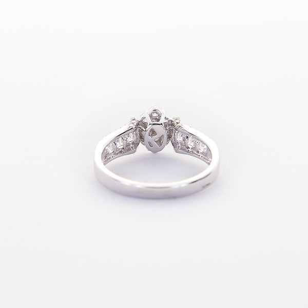 The Kathy - 18K White Gold and Diamond Ring