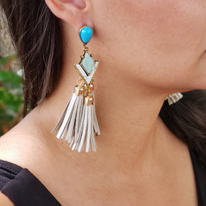 Bohemian Tassel Earrings - Loreta Accesorios