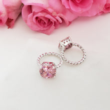 Load image into Gallery viewer, Cushion Cut Pink Ring