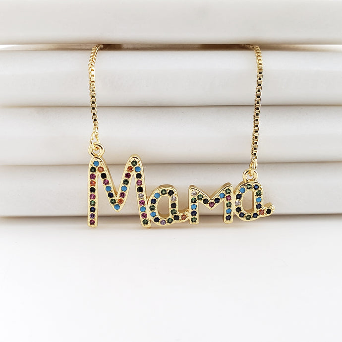 Mama Colorful Necklace