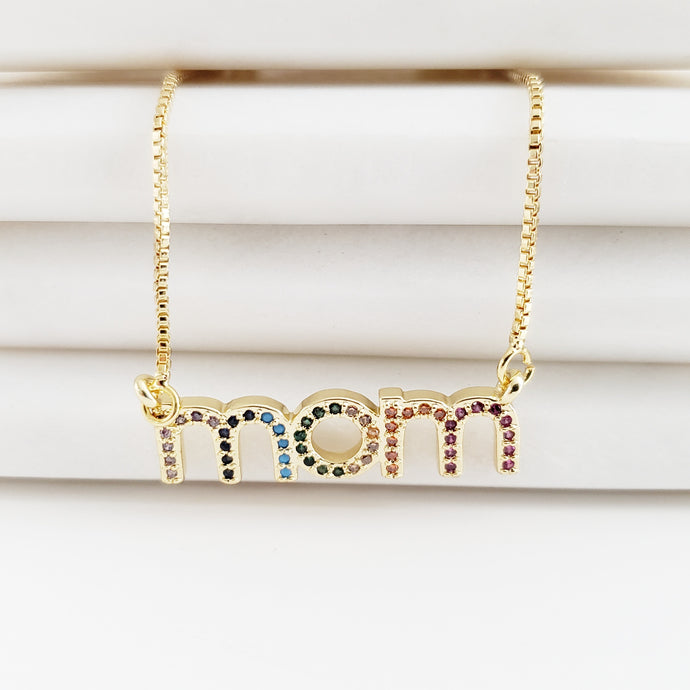 Mom Colorful Necklace