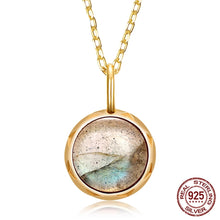 Load image into Gallery viewer, Labradorite Pendant Necklace