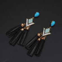 Load image into Gallery viewer, Bohemian Tassel Earrings - Loreta Accesorios