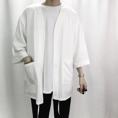 Ryuu Embroidered Kimono Style For Men