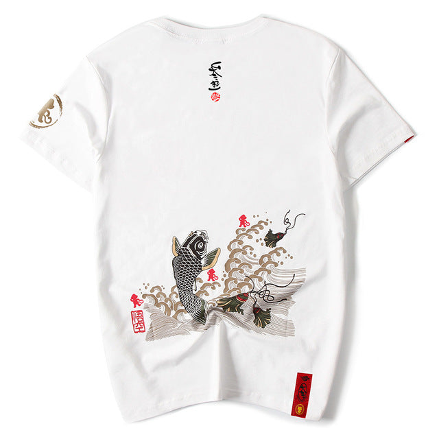 SHOSO-IN KOI T-Shirt (1088684982316)