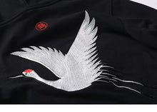 LUXURY TSURU CRANE BIRD Embroidered Hoodie Version