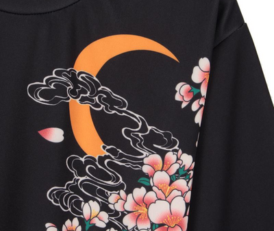 Koi no takinobori Sakura T-Shirt for women