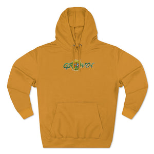 """Growth"" Pull Over Hoodie"