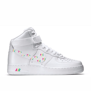 NKF Nike Air Force 1 Custom Hightop Kick - Woman
