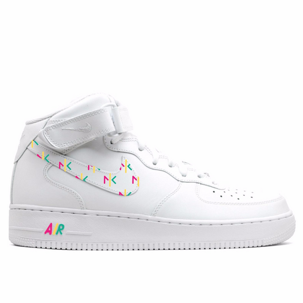 NKF Nike Air Force 1 Custom Mid Kick -  Women