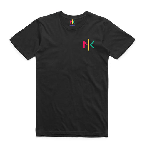 NK FOUNDATION TEE BLACK - MENS