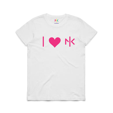 WOMENS NK FOUNDATION T'SHIRT - WHITE