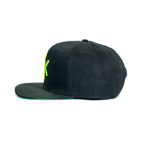 NK CAP SNAP BACK BLACK