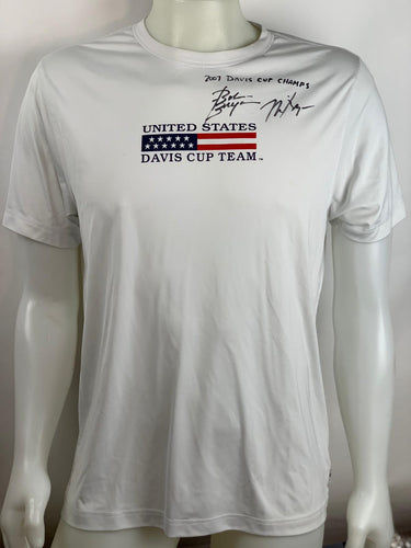 Bob and Mike Bryan's Signed Shirt
