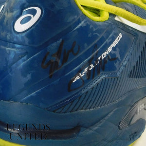 Steve Johnson's Signed Shoes