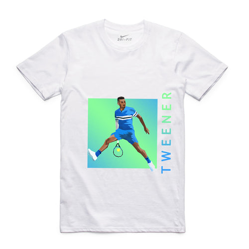 NIKE TWEENER GRAPHIC TEE WHITE -UNISEX