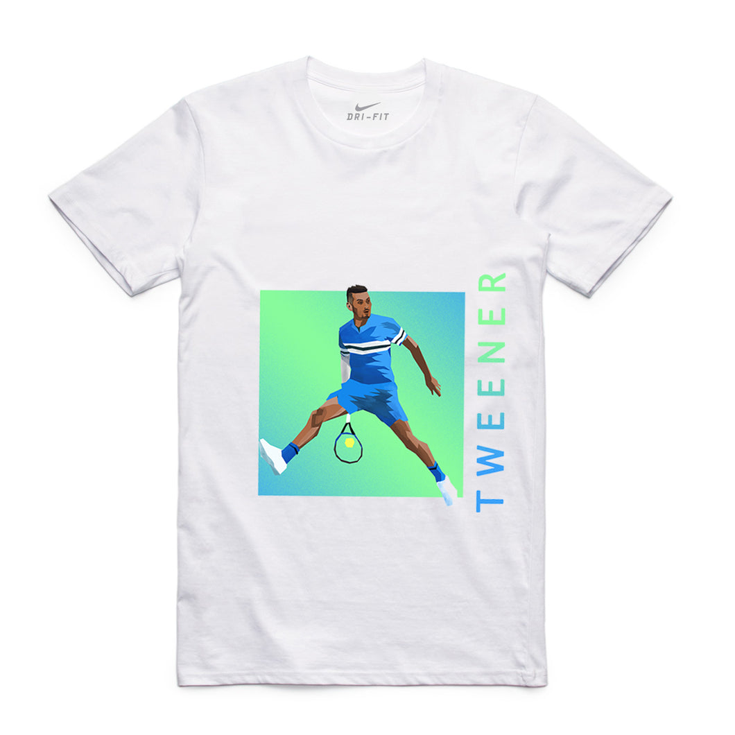 NIKE TWEENER GRAPHIC TEE WHITE