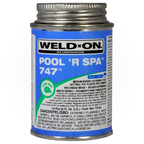 Weld-On 747 Pool 'R Spa Glue