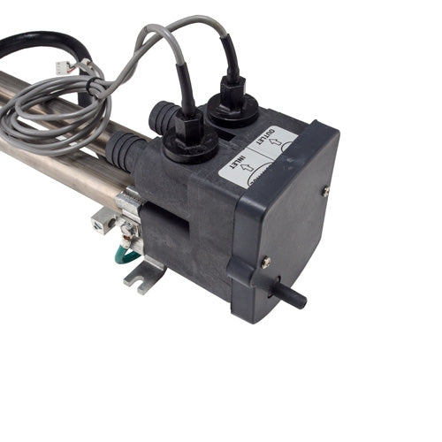 """Cotherm 1 3//4/"""" 6kW 3 Phase Industrial Immersion Heater 16/"""" TSDR1103 Thermostat"""