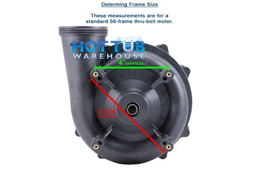 "Waterway 2"" Executive Wet End 4 HP 56 Frame 310-1740"