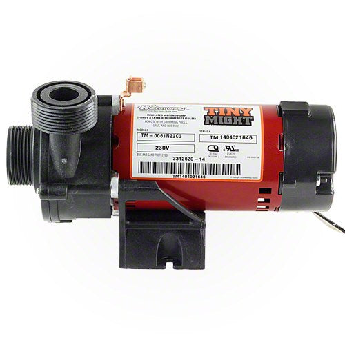 Waterway Tiny Might Circulation Pump 230 Volt 3312620-14
