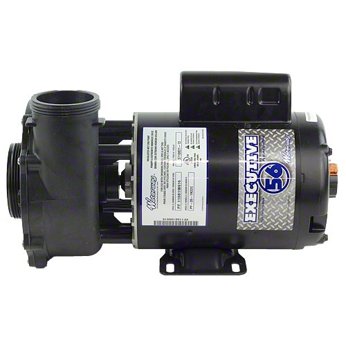 "Waterway Executive 5 HP 1 Speed 2 1/2"" Intake 2"" Discharge 56 Frame 230 Volt Pump 3712021-13"