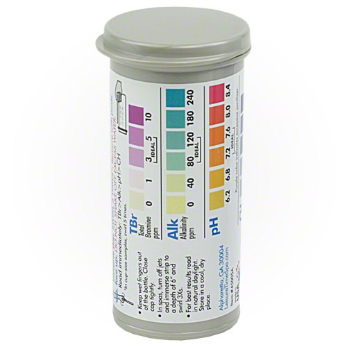 Leisure Time Bromine 4-Way Test Strips