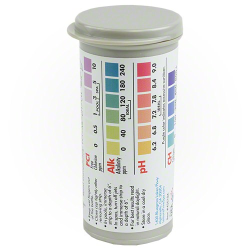 Leisure Time Chlorine 4-Way Test Strips