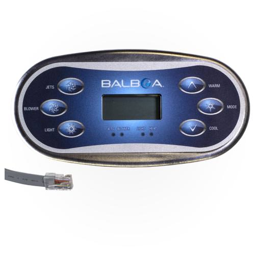 Balboa Hot Tub >> Balboa Topside Control Panel 54547