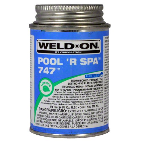 Weld-On 747 Pool 'R Spa Glue - Hot Tub Warehouse