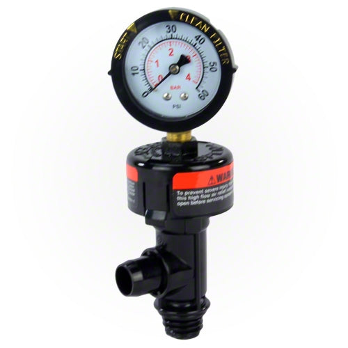 Pentair Air Relief Valve with Pressure Gauge 98209800