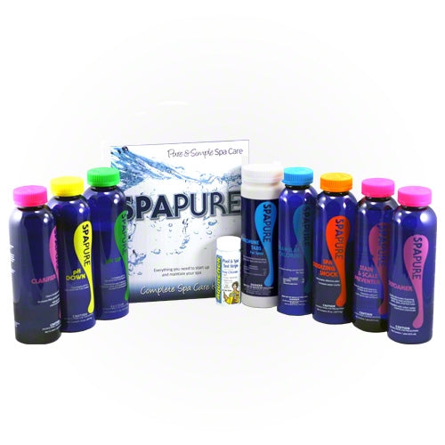 Spa Pure Complete Bromine Spa Care Kit - Hot Tub Warehouse