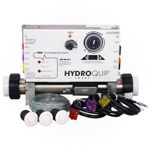 HydroQuip Slide Series Air Control System CS6009-US1 - Hot Tub Warehouse