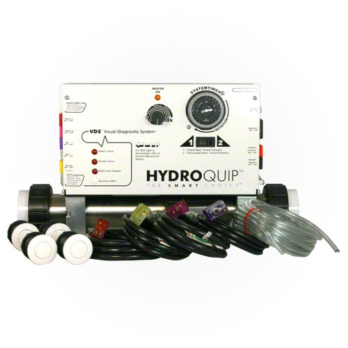 HydroQuip Slide Series Air Control System CS6009-US2 - Hot Tub Warehouse