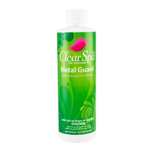Clear Spa Metal Guard