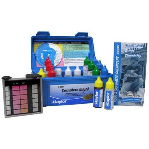 Taylor Complete Test Kit - High Range K-2005 - Hot Tub Warehouse