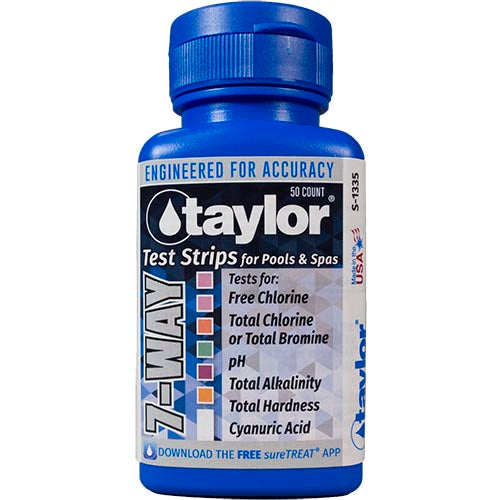Taylor Pool and Spa Test Strips