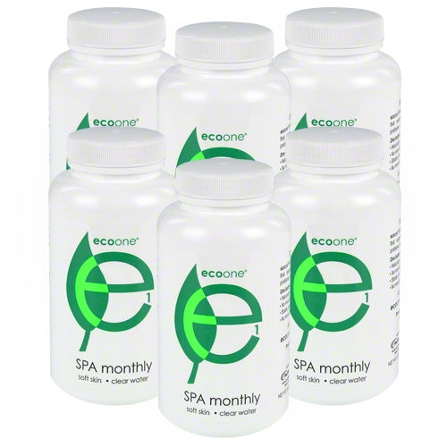 ecoone Spa Monthly 6 Month Refill Kit - Hot Tub Warehouse