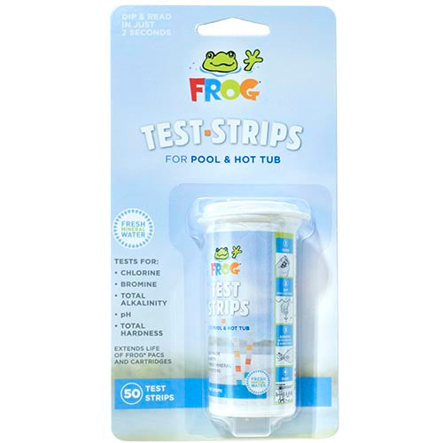 Frog Pool and Spa Test Strips 50 Pack