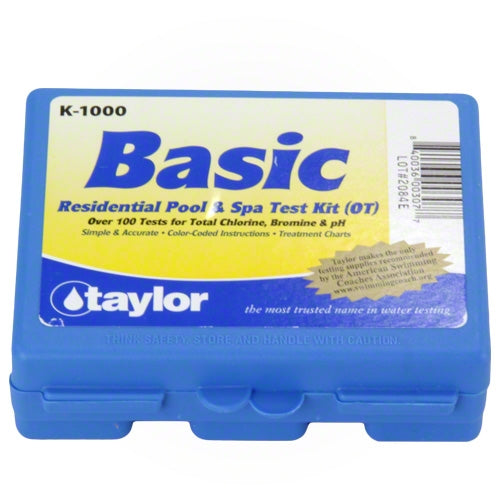 Taylor K-1000 Basic Residential Test Kit