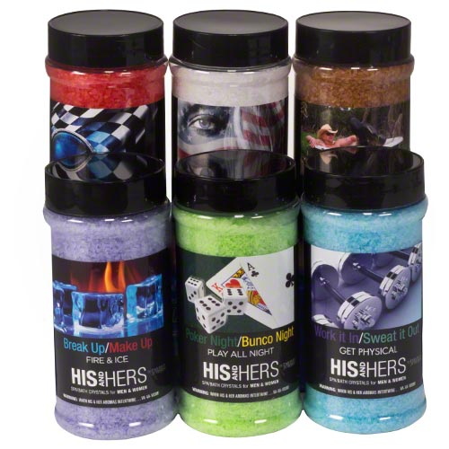 Spazazz His and Hers Aromatherapy Crystals - Hot Tub Warehouse