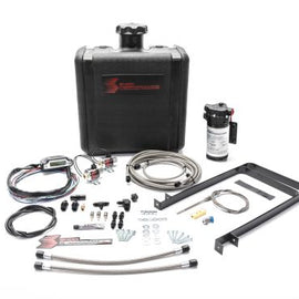 Snow Performance SNO-520-BRD STAGE 3 BOOST COOLER™ WATER-METHANOL INJECTION KIT POWERSTROKE (STAINLESS STEEL BRAIDED LINE, AN FITTINGS)