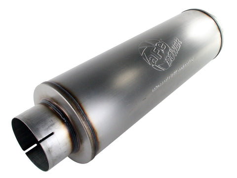 "aFe 49-91012 MACH Force-Xp 5"" 409 Stainless Steel Muffler - Universal"